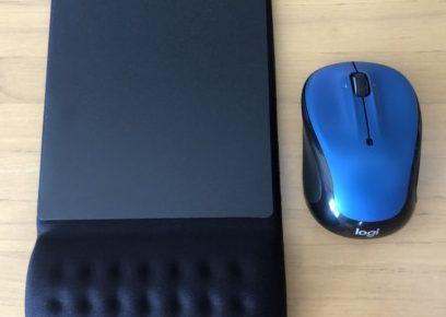 パソコンのマウスとパット交換
