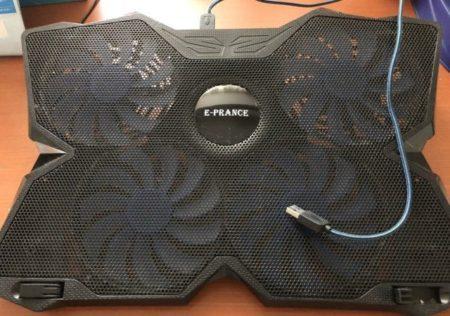 ノートパソコンの冷却ファン